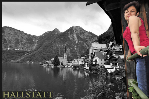 Hallstatt Austria Europe 哈斯達特 欧洲 Salzkammergut - original (not China copy) Copyright 2012 B. Egger :: eu-moto images 6934