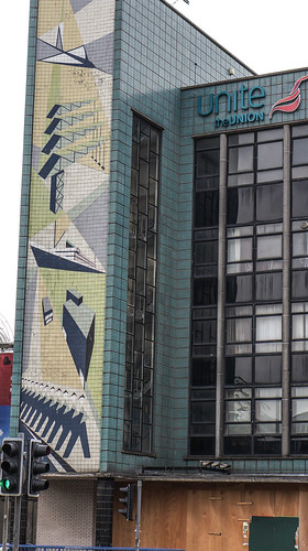 Transport House in Belfast was built in 1959, in the International Style (Sadly This Building Is Unoccupied)