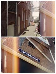 Hopmansgang (Alex !) Tags: film analog 35mm project groningen 35 me1 yashica stad steegje gangen straatjes schuitendiep straatnamen steegjes gangetjes hopmansgang schuitenschuiverskwartier