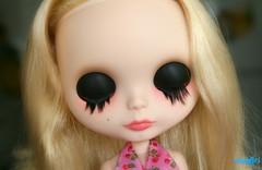 Candy's eyelids :)