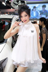 IG9C2201s (tony8888) Tags: show sexy beautiful car race thailand model pretty bangkok queen impact thai motor 2012