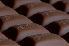 Cadbury's Dairy Milk. (Yvette-) Tags: chocolate macromondays nikkorf28105mm nikond5100 atastysnack