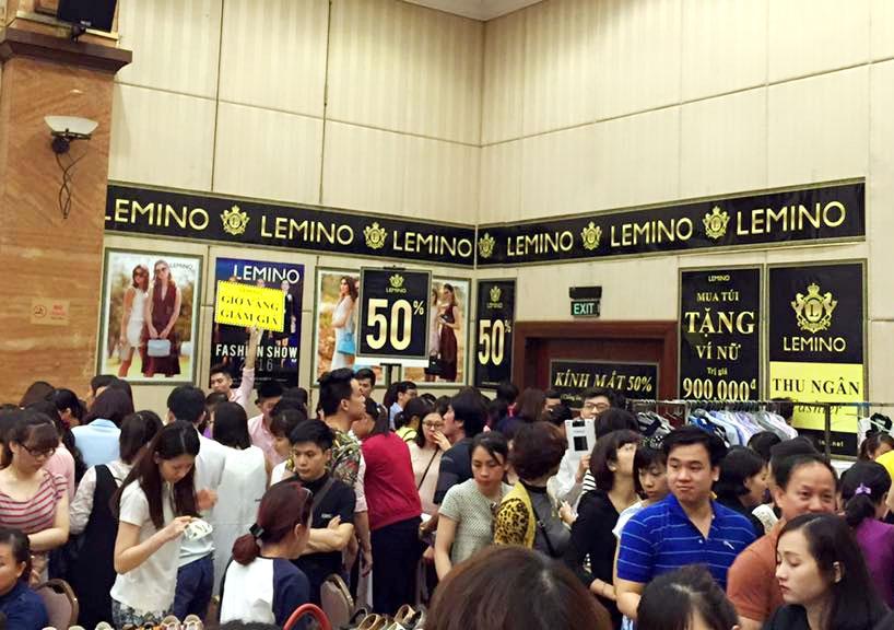 Giảm nhiệt mùa hè tại LEMINO – ELLE Shopping Fun 2016