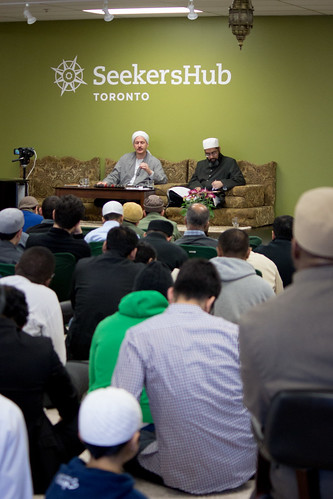 "Shaykh Yahya Rhodus at SeekersHub, Toronto and Seminar Series: Worship, Coffee and The Meaning of Life • <a style=""font-size:0.8em;"" href=""http://www.flickr.com/photos/88425658@N03/26567021490/"" target=""_blank"">View on Flickr</a>"