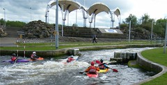 Stockton on Tees, River Tees water sports centre (rossendale2016) Tags: white man sports water against river screw waterfall video athletic dangerous mechanical gates centre competition structure made national canoes manmade hanging strong safe practice olympic rough watersports fighting heavy upstream barriers current torrent tees photogenic practicing stocktonontees archimedes controlling barage