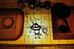 * Oops, I spilled the coffee... * (-ABLOK-) Tags: kitchen caf alice rip marabout super vision owned destin lapin oups retard signe dieu magie marre tourdi inattendu allluia tadaaaaam maincarr moquage