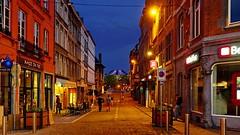 Namur en mai (Yasmine Hens) Tags: road night europa flickr belgium ngc bluehour rue nuit namur hens yasmine wallonie namurenmai iamflickr flickrunitedaward hensyasmine