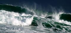 wave action 3 (bushman58929) Tags: ocean travel sea beach water surf australia bigwaves seaspray bigsurf