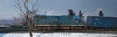 Boston and Maine GP38-2 (MikeC4503) Tags: new england boston train layout model 2000 maine locomotive boxcar ho proto h0