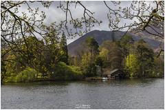 Boathouse Thro the Trees (Jistfoties) Tags: lakedistrict derwentwater keswick