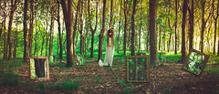 16/52 (K.Ma) Tags: portrait nature girl forest project model woods fineart makeup panoramic bodypaint portraiture mystical concept cinematic magical kuma 52weeks pablocastrofernandez