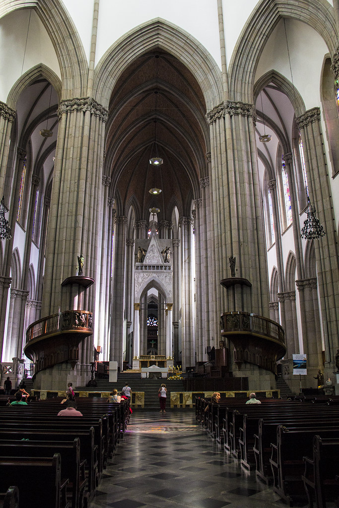 Tour Centro Histórico de São Paulo - Catedral da Sé por dentro