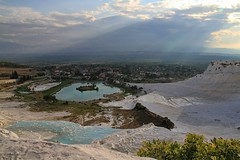 Pamukkale (P.C. Alice) Tags: travel blue sky nature water clouds canon turkey eos cloudy ngc sigma 2011 beautifulearth  favorites20 sigma1770mm eos7d