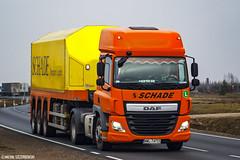DAF CF Euro6 SC (Micha Szczerbowski) Tags: sc cf daf schade naczepa euro6 inloader