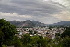 View Of Abbottabad From Heights (Khwaja Saeed) Tags: abbottabad hazara ilyasi masjid landscape nature khwajasaeed