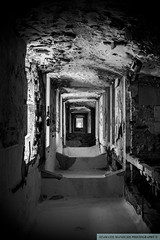 Upside down (foveras13) Tags: bw nikon decay athens greece sanatorio parnitha d5200