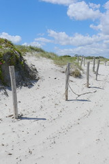 Don't sit on the fence...... (robbie20161) Tags: sky clouds fence sand post dunes beech mariamarina sardinina hff