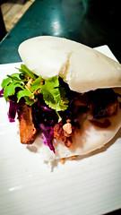 O.G. Bao (alanosaur) Tags: food toronto bar dinner cuisine restaurant peanuts og pork tapas relish snack meal cabbage pickled kanpai bun taiwanese crushed teriyaki bao shoyu 2016