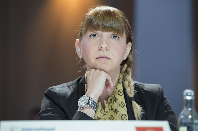 Angelina Zivkovic at the Closed Ministerial Session