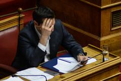 GREECE-ATHENS-POLITICS (X-Andra) Tags: alexis greek prime bill action euro politics athens greece parlament crisis minister attica grc prior eurogroup legislation hellenic austerity tsipras
