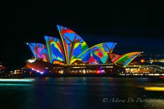 Vivid Sydney 2016 (Asteria D.) Tags: our light house art festival back rainbow opera colours year sydney culture vivid 9 australia number installation future root claim aboriginals 2016
