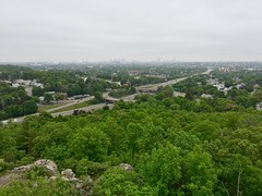 View from Wright's Tower ((Jessica)) Tags: park green nature boston hiking massachusetts reservation medford pw middlesexfells wrighttower