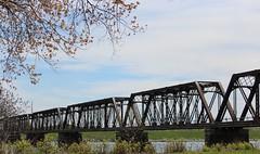 International Railway Bridge (jmaxtours) Tags: bridge ontario railway railwaybridge uscanada niagarariver 1873 forterie internationalrailwaybridge forterieontario forterietobuffalo internationalbridgecompany