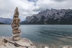 IMG_9212 (Scott Martin Calgary) Tags: ca canada mountains alberta lakeminnewanka balancedrocks improvementdistrictno9