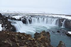 Goafoss (Dick Dangerous) Tags: snow ice waterfall iceland falls gods chute goafoss