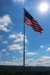 20160607091020_IMG_2135 (arielandrew) Tags: flag americanflag american red white blue glenlyon canon eos 750d rebel t6i