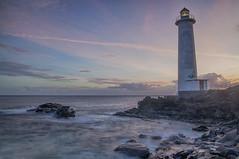 Sunset sur le phare de Vieux Fort (lemwan) Tags: longexposure travel sunset sea mer lighthouse nikon guadeloupe antilles hoya gwada carabes basseterre vieuxfort caraibbean d90 frenchwestindies lemwan