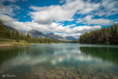 Johnson Lakes, Banff National Park (FollowingNature) Tags: followingnature banffnationalpark jaspernationalpark lakes canadianrockies nikond800 nikon1635mm banffphotospots banffphotolocations banffphotos jasperphotos cloudyday banfftouristspots