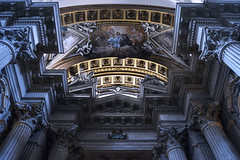 C E L E S T I A L (bellidamen) Tags: trip travel blue rome art church architecture buildings dark gold europe paint romans
