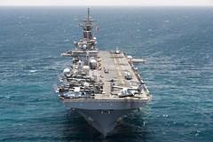 160612-N-YR245-045 (U.S. Naval Forces Central Command/U.S. Fifth Fleet) Tags: usnavy usmarines 13thmeu ussboxerlhd4 cpr1 amphibiousreadinessgroup 13thmarineexpeditionaryunit boxarg13meu16