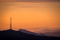 Rundemanen mountain top, Bergen (Paulius Bruzdeilynas) Tags: trip travel sunset summer sky sun mountain weather norway norge mood hiking sony hike layers bergen ulriken nowegian rundemanen sonyalpha sonya7ii