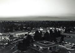 Sunset (I'm Smokin) Tags: sunset bw film monochrome