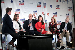 Sally Kohn, Joanne Bamberger, Paul Begala, Alison Lundergan Grimes, Wendy Davis & Michael Murphy (Gage Skidmore) Tags: california paul michael center sally convention pasadena davis wendy joanne alison murphy begala 2016 grimes kohn bamber lundergan politicon