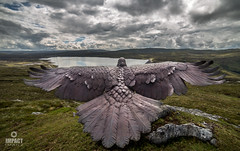 The Eagle of Glendoe (Impact Imagz) Tags: eagle bronze sculpture glendoe dam scotland visitscotland scottish highlands hillwalking hillwalks sse memorial