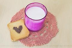12/52 {Colazione} (Kahlan_) Tags: glass breakfast milk nutella latte bicchiere colazione