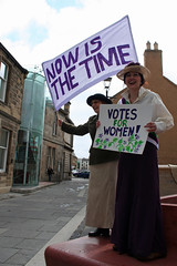 Smiling Suffragettes! (east_lothian_museums) Tags: history museum events may event museums stories storytelling eastlothian campaigners suffragettes festivalofmuseums suffragetteshaddingtonjgcelms johngraycentre