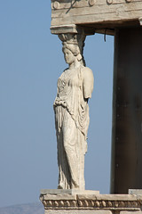 Fair maiden (ejhrap) Tags: statue temple ruins athens greece scuplture porch acropolis caryatids antiquity maidens erechtheion