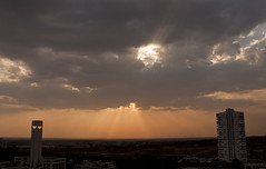 Cloud Holes (Sandeep Santra) Tags: cloud sun india nature canon landscape eod rays hyderabad 500d andhrapradesh explored incredibleindia gachibowli canonefs1855mmf3556is