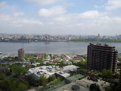 View from New Apartment (david55king) Tags: usa newyork newjersey harlem manhattan manhattanskyline hudsonriver cliffsidepark david55king
