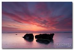 Sea of colour (Simon Bone Photography) Tags: sea sky cloud sun reflection beach silhouette sand cornwall 2012 porthtowan cornishcoast canon1740mmlf4 cornishsunsets wwwthehidawaycouk canoneos7d hitechnd09reversegrad