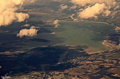 Presa Cerro Prieto en plenitud (Hotu Matua) Tags: mexico view aerial reservoir leon linares nuevo presa petaca