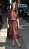 Amanda Peet Celebrities arrive at The Ed Sullivan Theater for 'The Late Show with David Letterman' New York City, USA