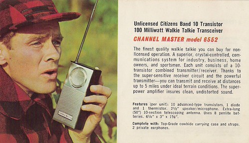 CHANNEL MASTER Radio, Television, Tape Recorder, Walkie Talkie and Interphone Brochure (USA 1961)_18