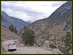 Road down to NH22 from Recong Peo (Indianature4) Tags: india mountains hp april himachal himalayas 2012 himachalpradesh kinnaur peo indianature recongpeo snonymous