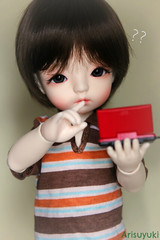 Mmmmm seriously... (Arisuyuki) Tags: game doll nintendo ds bjd dollfie nds eiri dollmore yosd babylamb eirien babylambmiadoll miasbabydollaga dollmoreaga arisuyuki