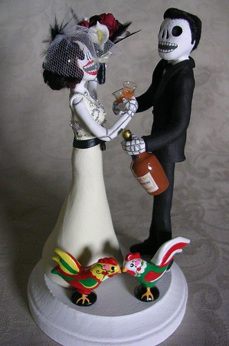 Day of the Dead Wedding Cake Topper - a photo on Flickriver